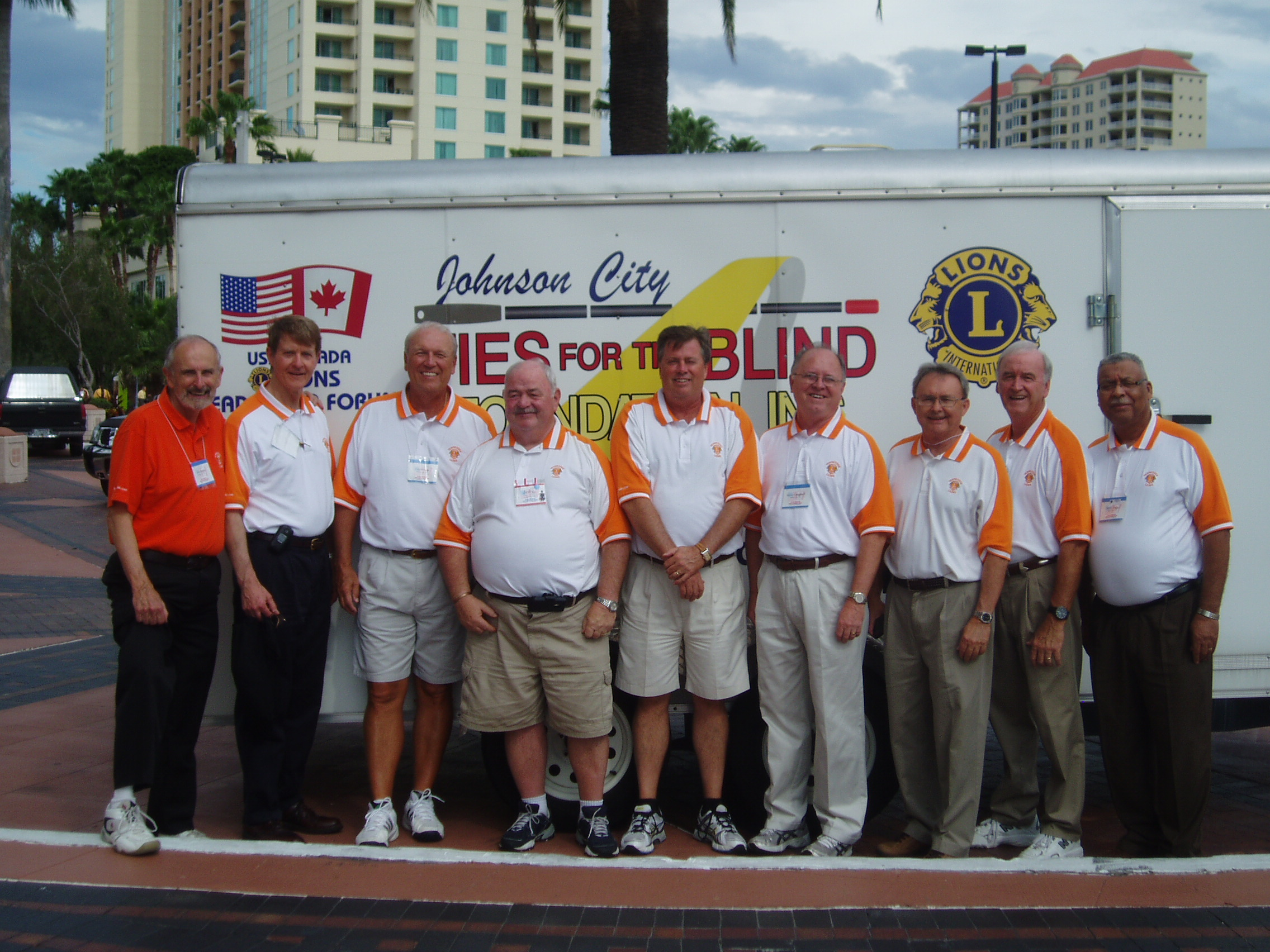 Ties for the Blind at USA-Canada Forum in Tampa, September 2012