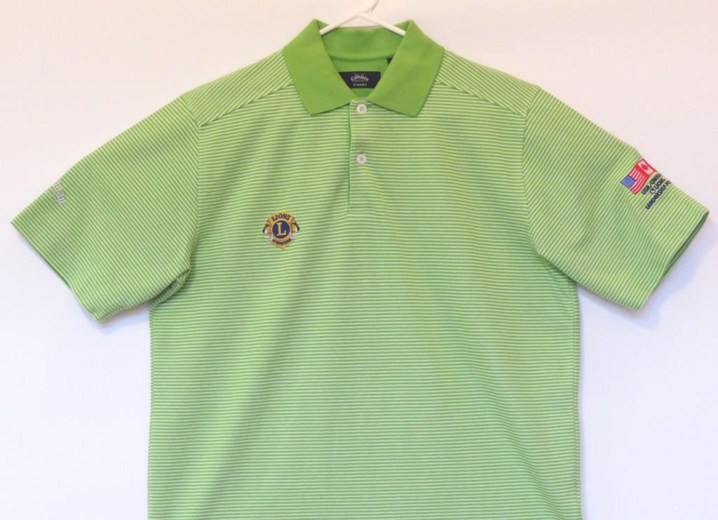 Green Polo SS