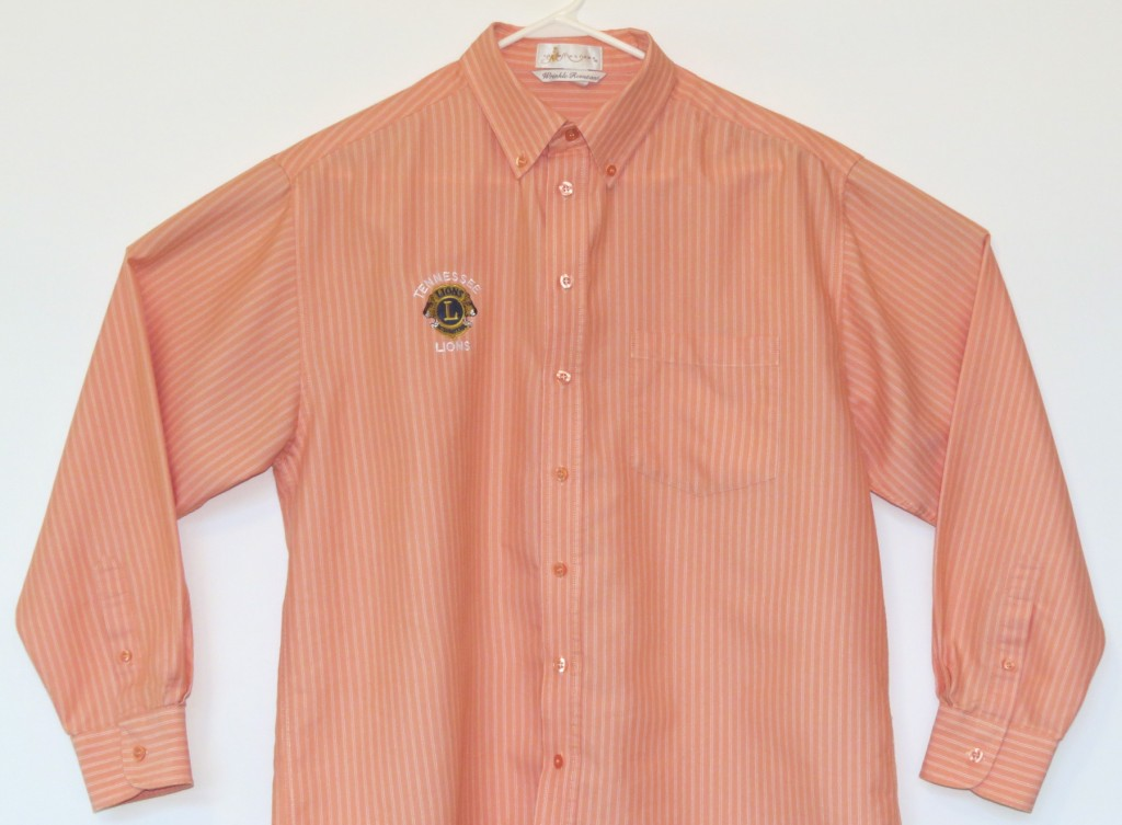 Orange Pinstripe
