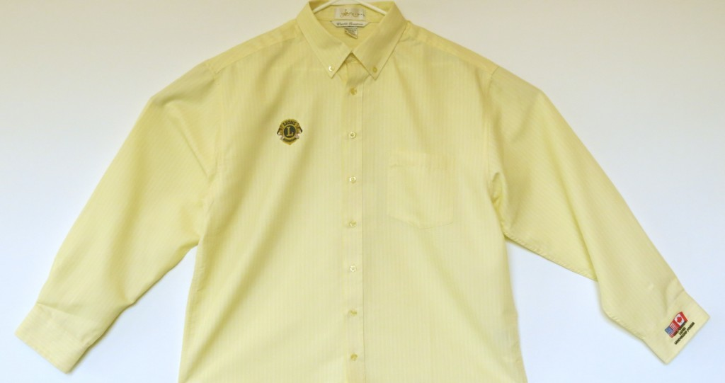 Yellow Pinstripe LS